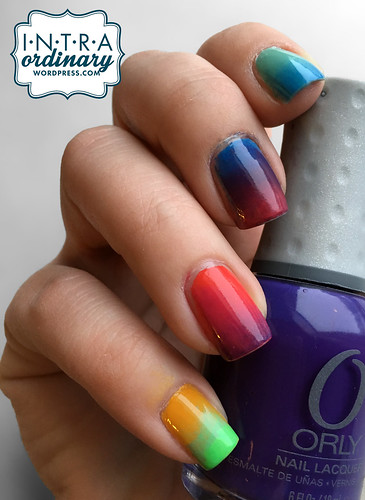 Crazy Color Nails