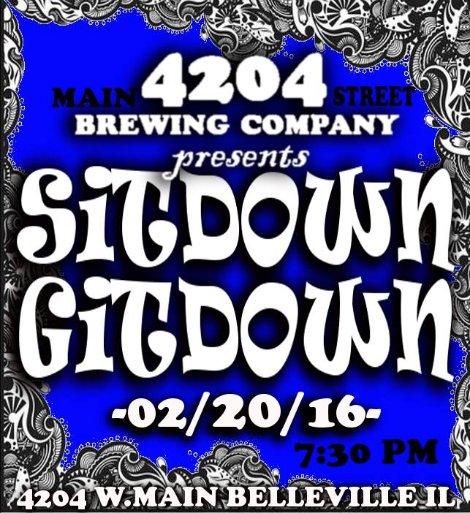Sitdown Gitdown 2-20-16