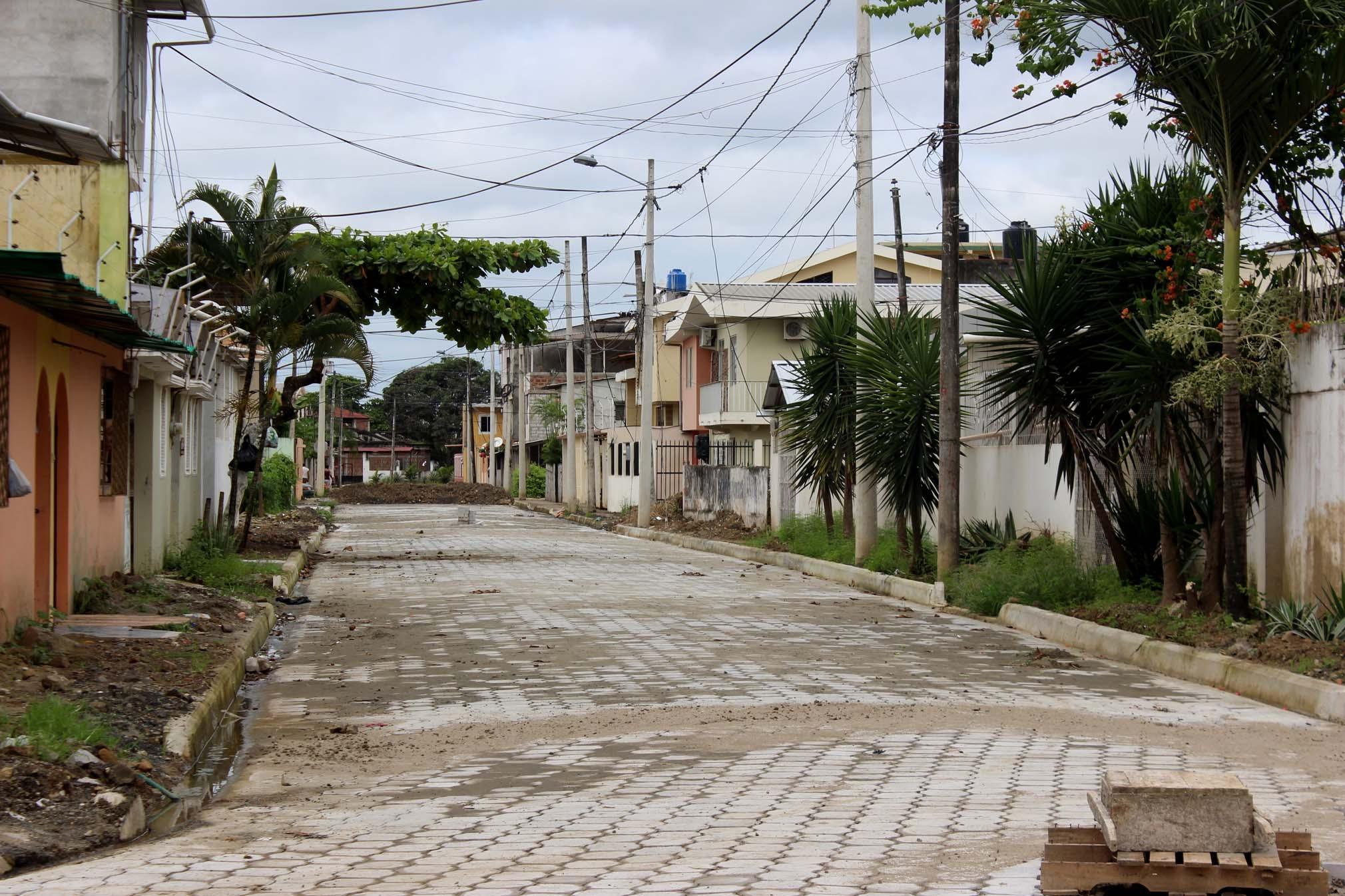 Calle Los Cipreses, Cdla. Eugenio Espejo