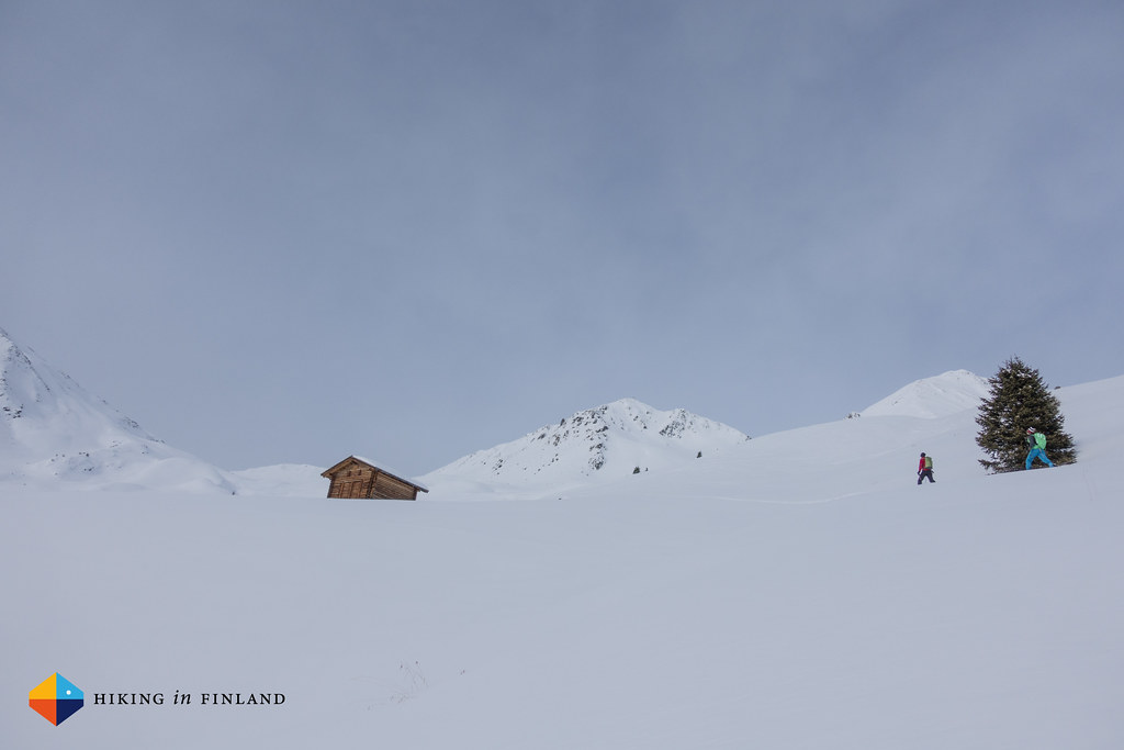 Ski-touring to the Hoher Mann