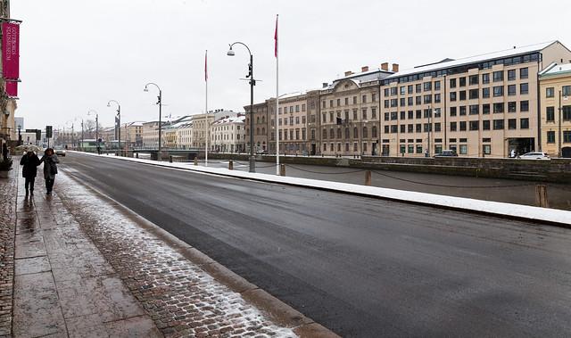 Buildings in Gothenburg, Sweden
