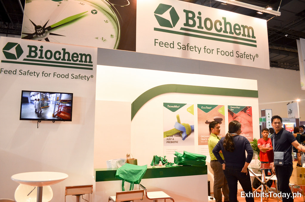Biochem Exhibit Booth