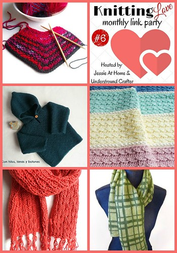Knit Love Link Party; February 2016 from Jessie At Home and Underground Crafter