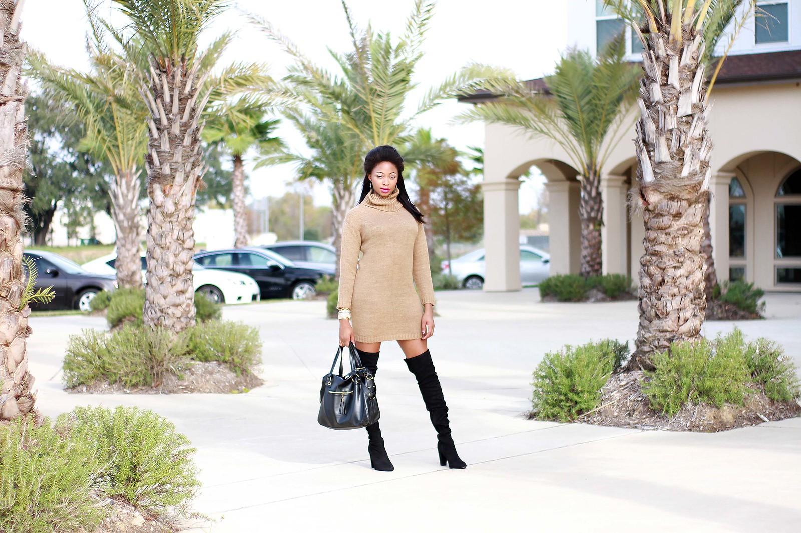 legs for days asos sweater dress asos boots
