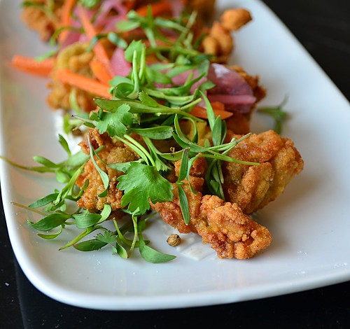 Curry Fried Oysters