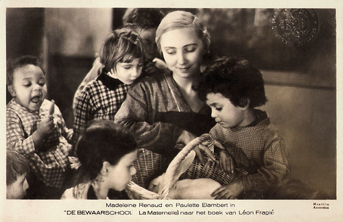 Madeleine Renaud and Paulette Elambert in La Maternelle (1933)