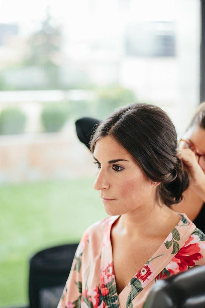 maquillaje y peinado de novia en madrid