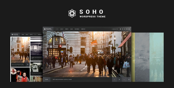 SOHO v2.2 - Fullscreen Photo & Video WordPress Theme