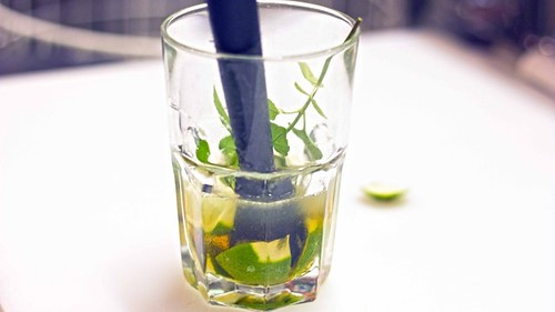 Mojito drink cocktail mint white rum