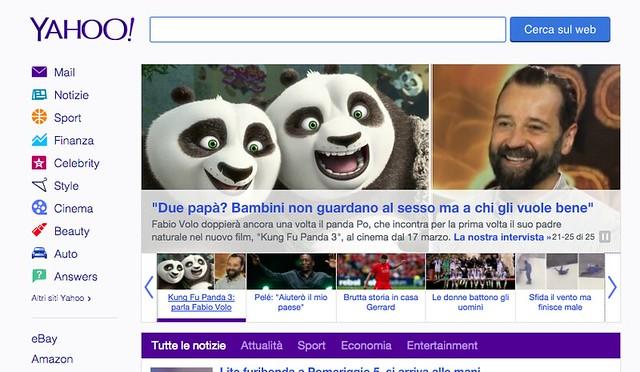 La nostra intervista a Fabio Volo su Yahoo