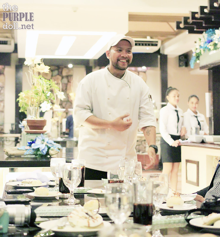 Cafe Uno Executive Chef Victor Barangan
