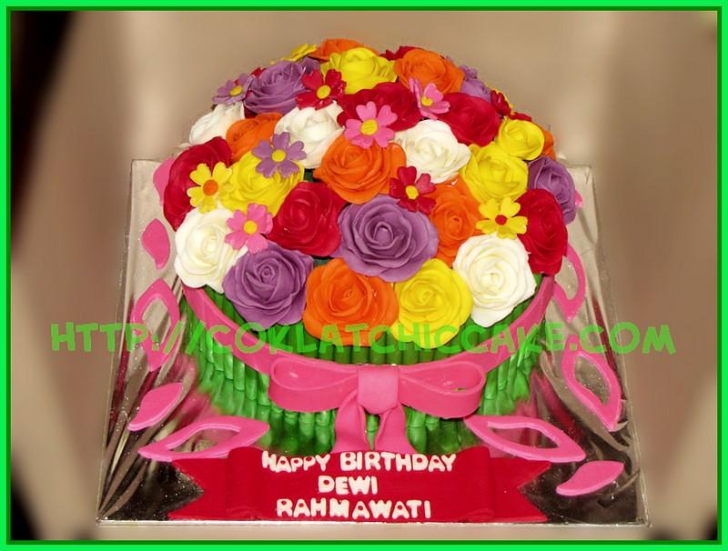 Cake Bunga
