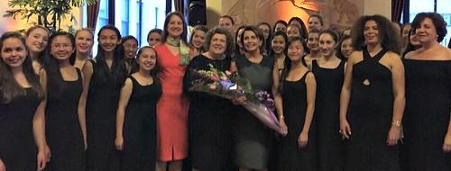 Congresswoman Pelosi celebrates Strong Women Voices with SF Girls Chorus