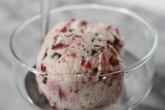 Chocolate and Cherry Ice Cream