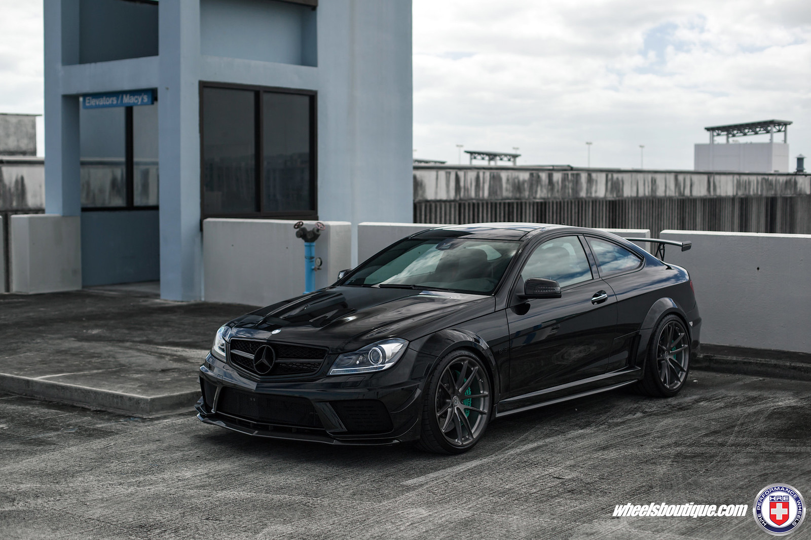 The Official HRE Wheels Photo Gallery for Mercedes-Benz C63AMG ...