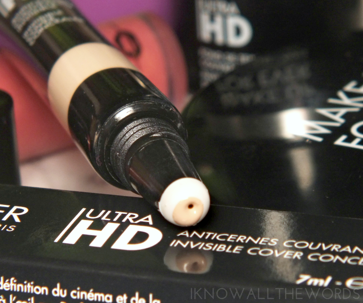 make up for ever ultra hd invisible cover concealer in R20 colour correct (3)
