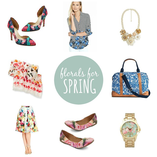 florals for spring, on trend | Style On Target