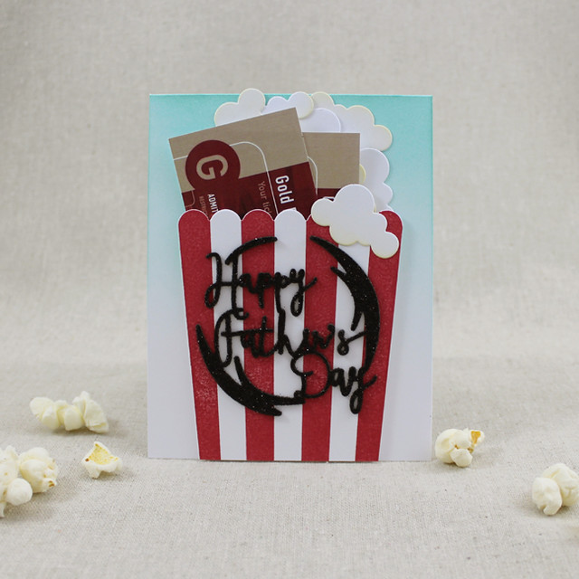 Movies & Popcorn Father's Day Card