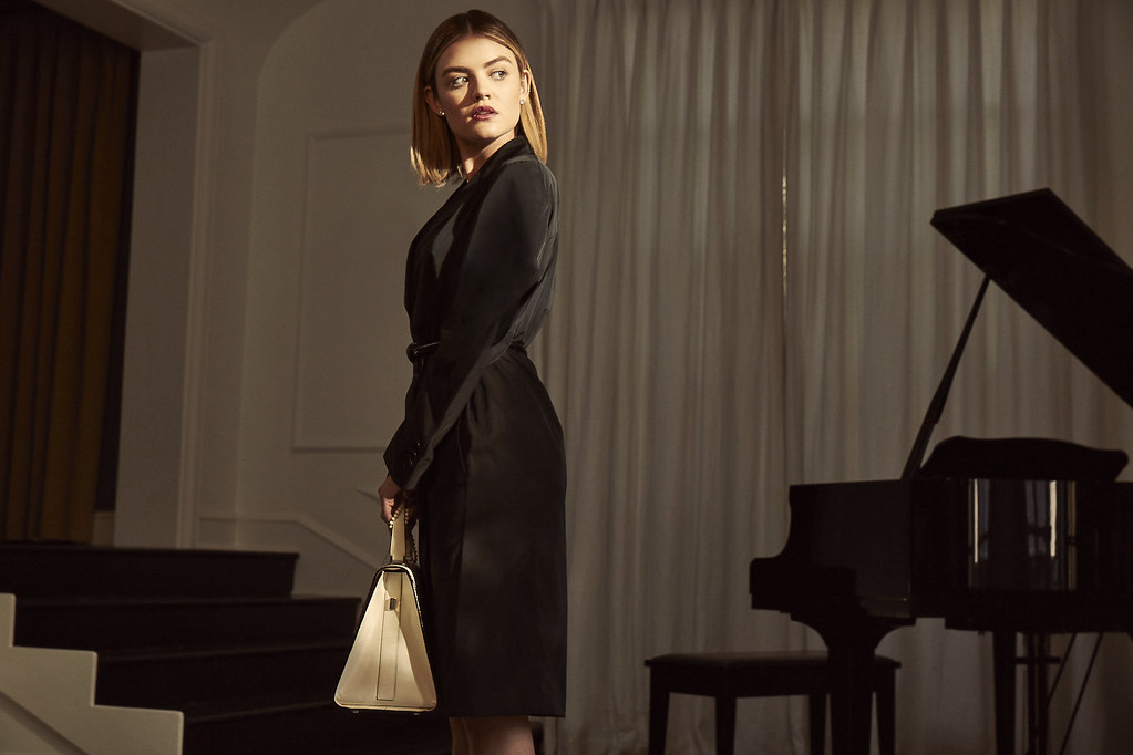 Люси Хейл — Фотосессия для «Elle» 2016 – 2
