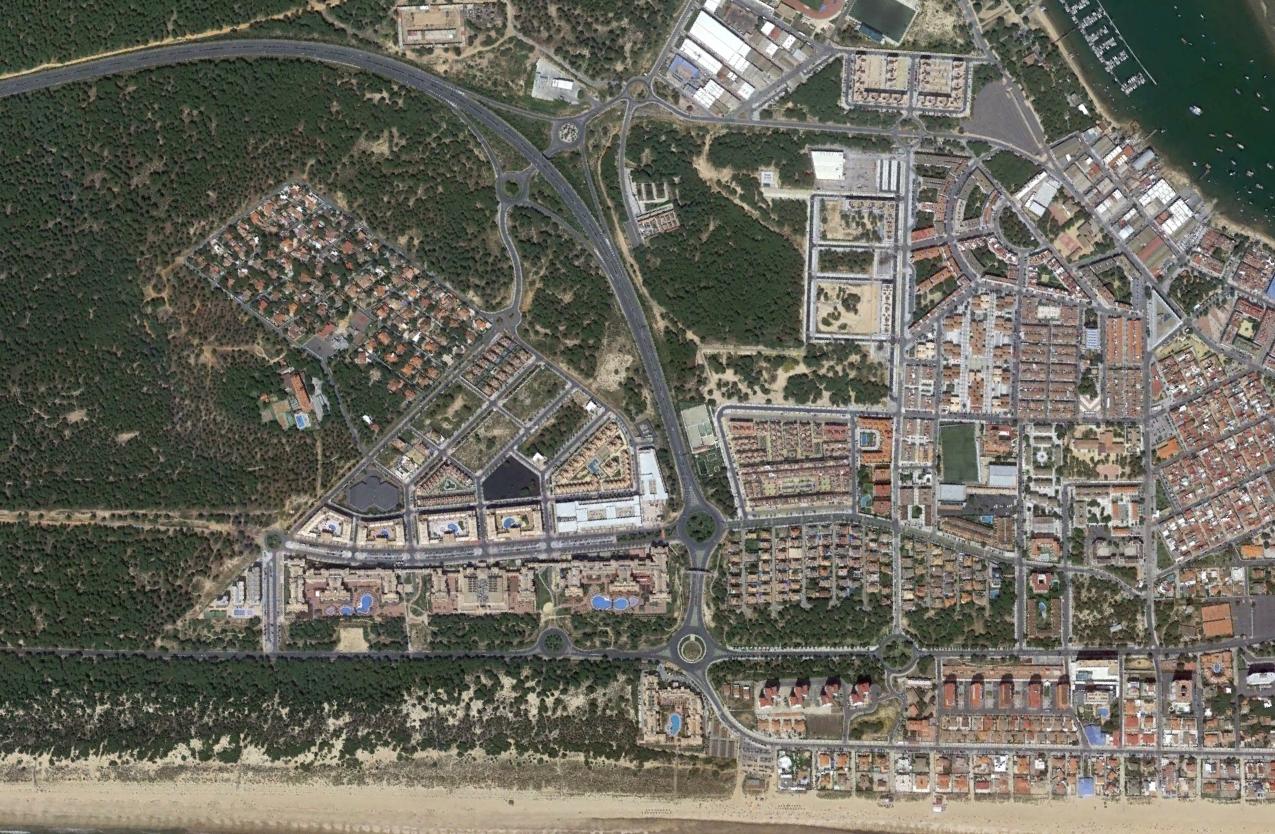 punta umbría, huelva, típico sitio donde veranean los gemeliers, después, urbanismo, planeamiento, urbano, desastre, urbanístico, construcción, rotondas, carretera