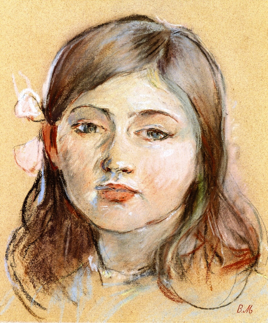 Portrait of Julie (Berthe's daughter) by Berthe Morisot, 1889