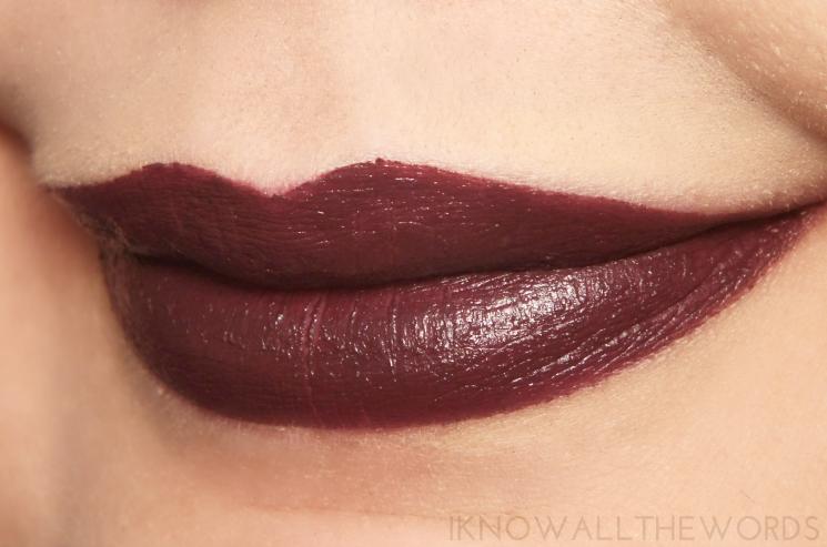 tarte drench lip splash lipstick bonfire