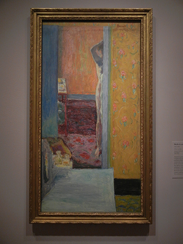 Pierre Bonnard, Legion of Honor, SF - Nude in an Interior _ 1873