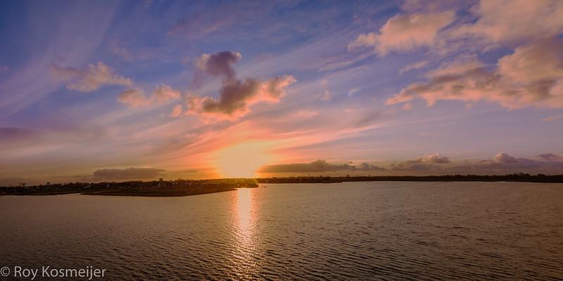 Sunset_Panorama_Meerstad_Groningen