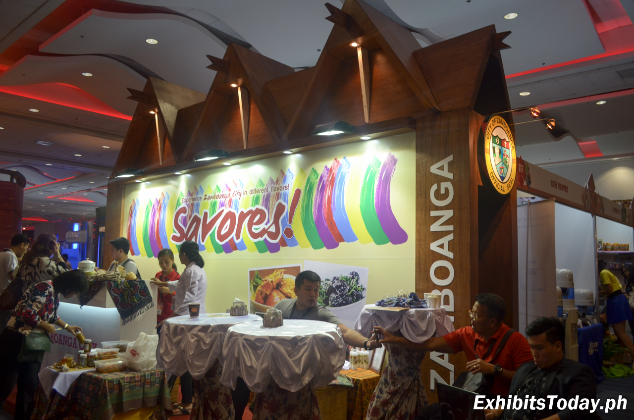 Tourism of Zamboanga Trade Show Display