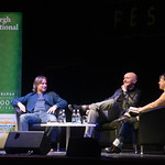 Irvine Welsh & Robert Carlyle in conversation with Hannah McGil | © Alan McCredie