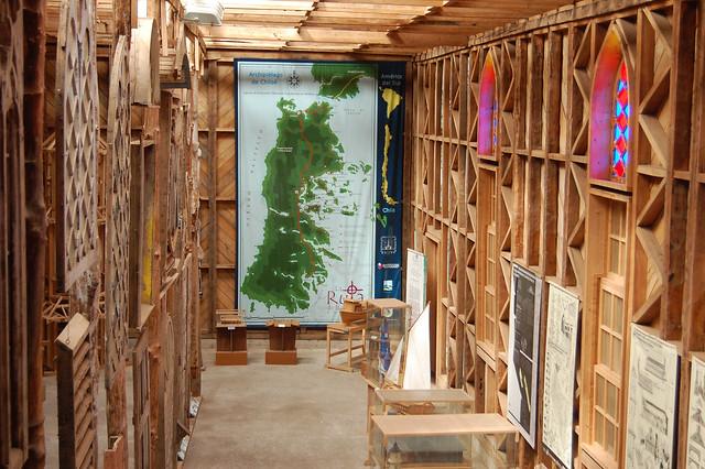 Centro de Visitantes de Iglesias de Chiloé, Ancud, Chiloé, Chile