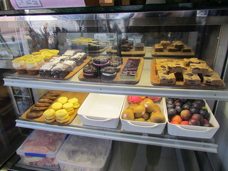 Dessert Case at Flora and Fauna