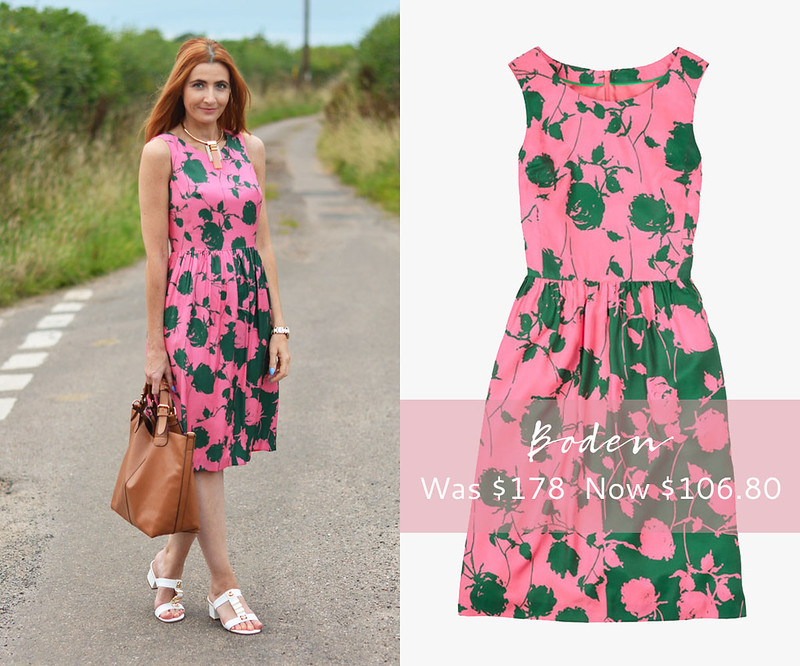 January 2016 Sales | Boden Sylvia floral midi dress