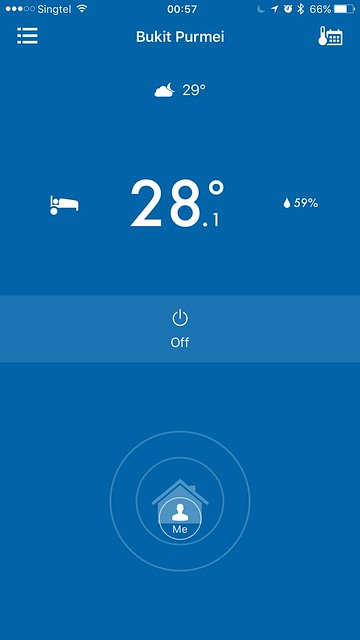 tado iOS App - Home