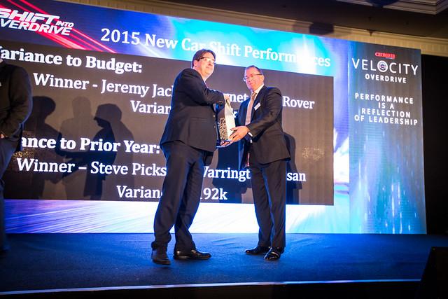 Velocity Overdrive - Award Winners