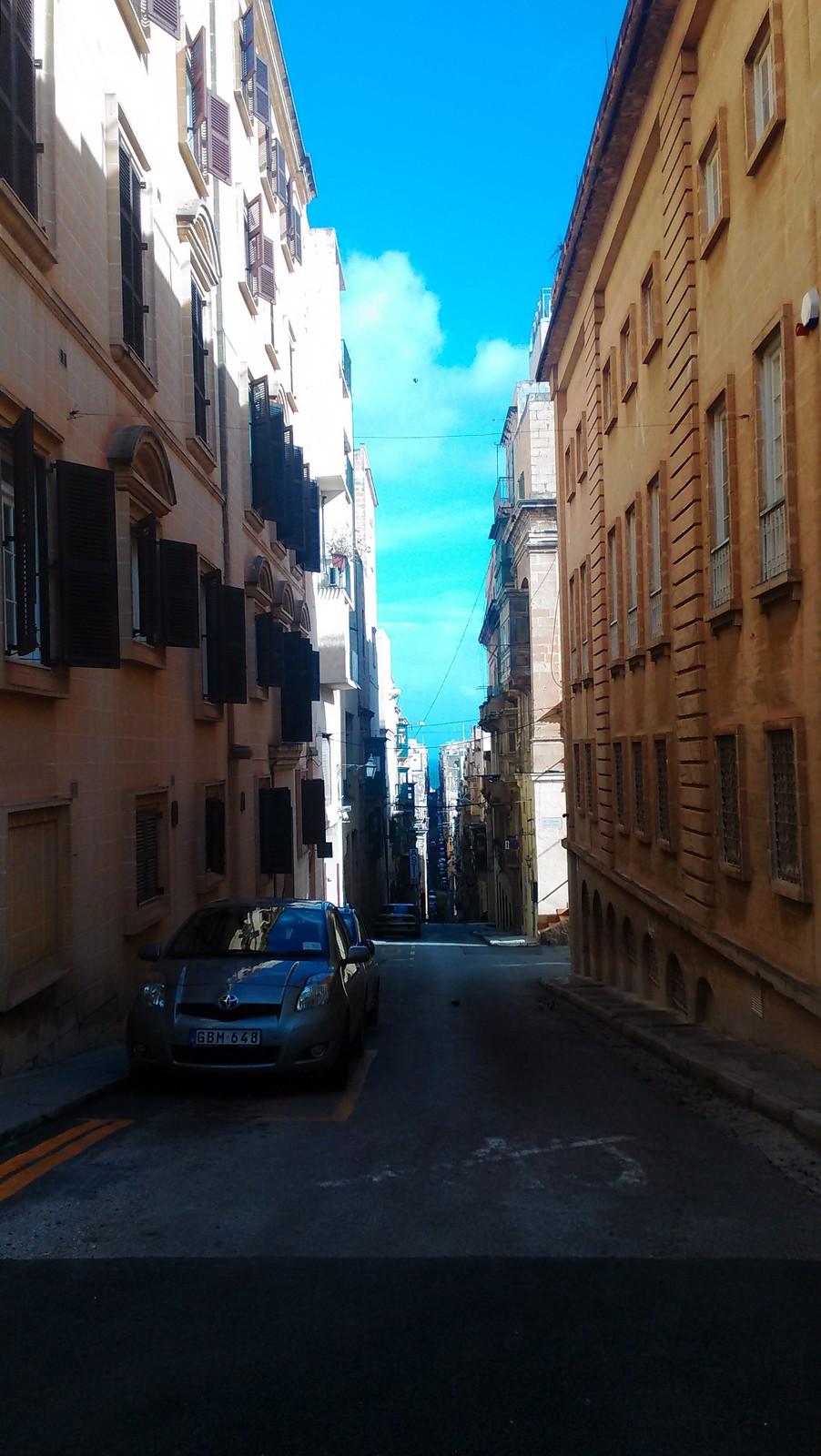 Saliscendi a Valletta
