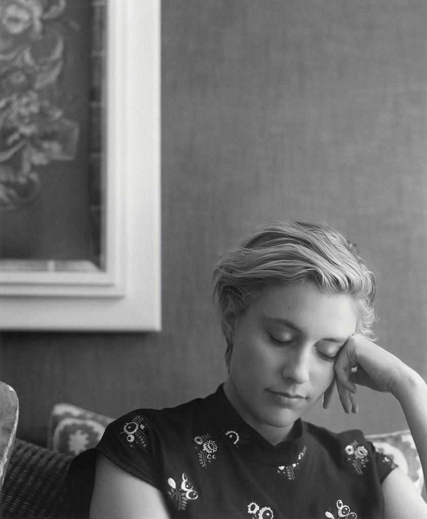 Грета Гервиг — Фотосессия для «Zeit» 2015 – 1