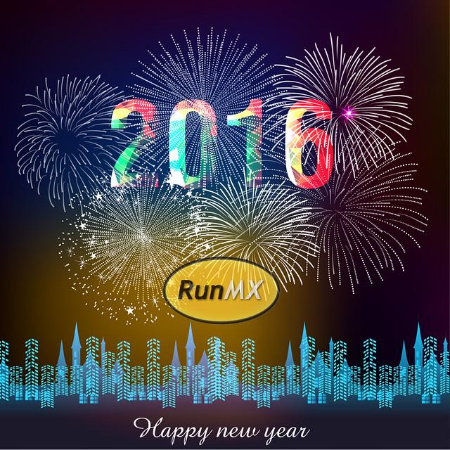 Muy feliz año nuevo - Happy New Year