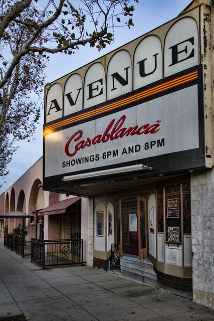 Avenue Theater Facade