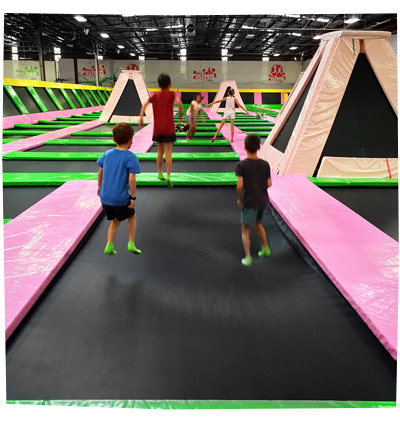 Jump About Trampoline Park