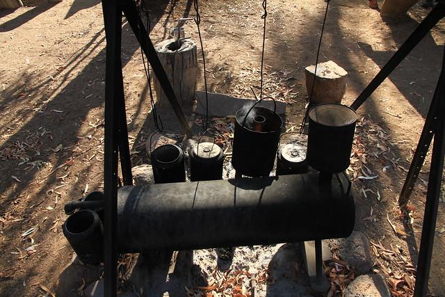 澳洲昆士蘭Undara Experience-Bush Breakfast煮咖啡-20141117-賴鵬智攝