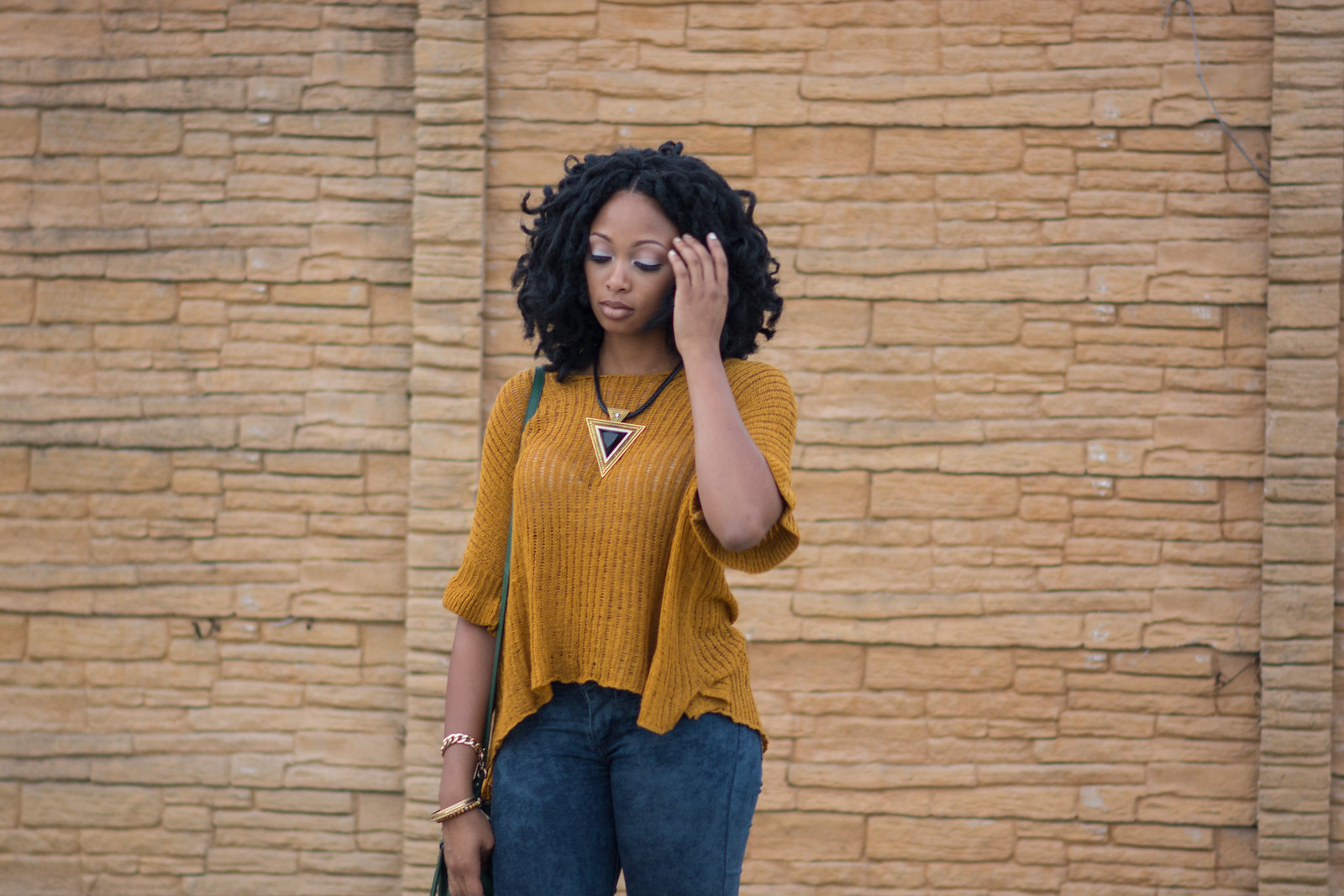 knit sweater outfit of the day lookbook