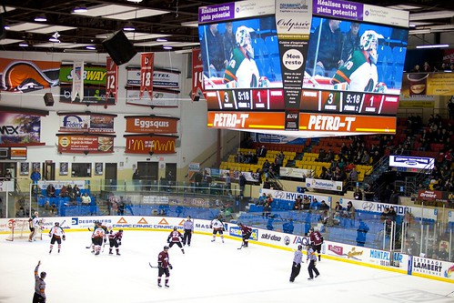 Hockey Patriotes vs Concordia Stingers