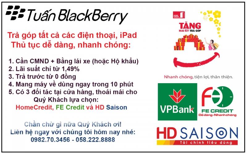 Tuấn BlackBerry Mua bán,Trả góp Smartphone: iPhone-iPad-Sony-Samsung-LG-HTC-SKY. Sửa chữa Điện thoại