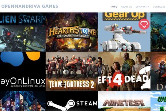 openmandriva_games | laboratorio linux | Flickr