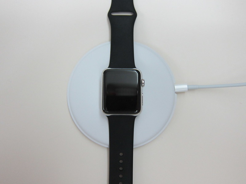 Apple Watch Magnetic Charging Dock - Flat Position