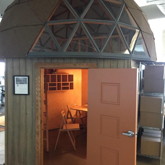 Airbnb의 회의실