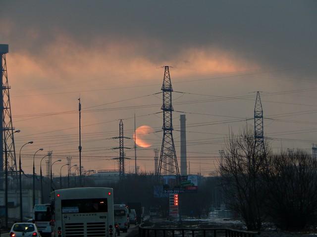 солнце утром над Капотней | Хорошо.Громко.