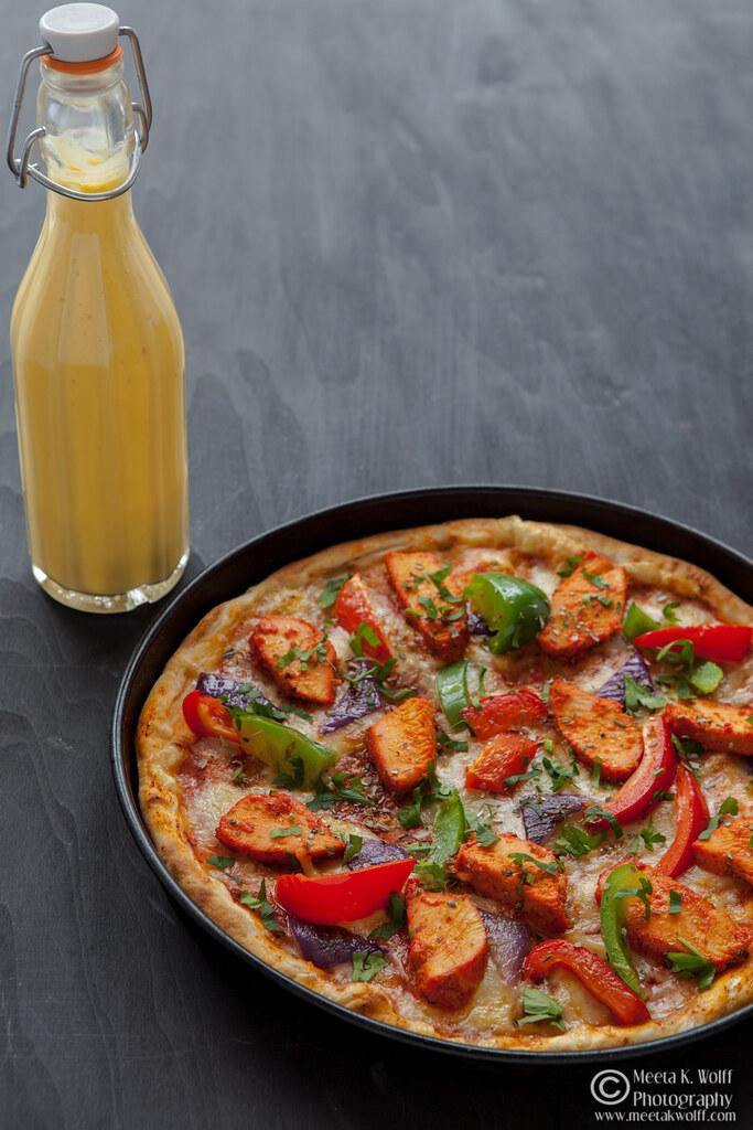Pizza Chicken Tikka by Meeta K. Wolff