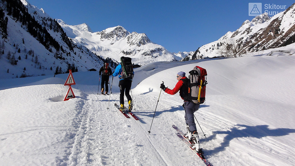 Franz Senn Hütte Stubaiské Alpy Österreich foto 11